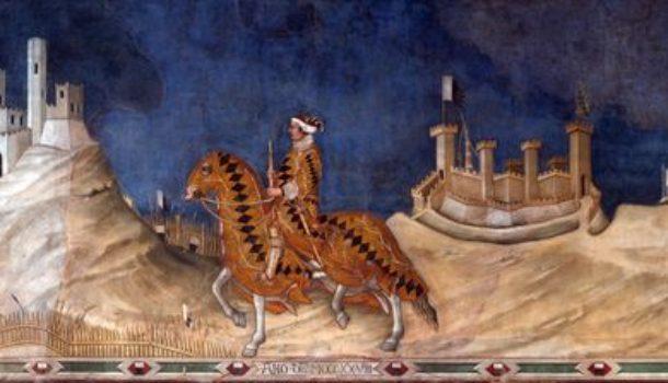 Guidoriccio da Fogliano: la rappresentazione dell'ambiente medievale