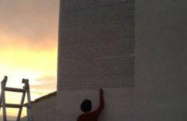 Fontamara diventa un murales: 100 metri quadrati per un romanzo