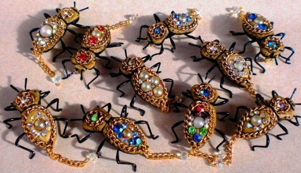 Tra moda e tradizione i Maquech Beetle: insetti come gioielli