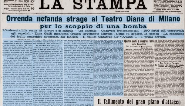 La strage del Teatro Diana