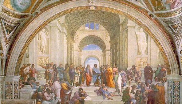 Il cartone della Scuola d'Atene ritorna alla Pinacoteca Ambrosiana