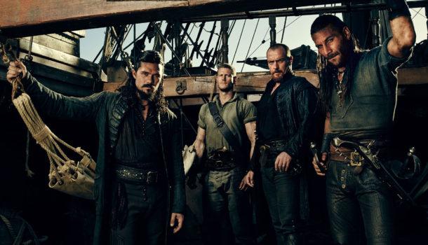 Black Sails: i pirati di Stevenson prima dell'Isola del tesoro