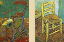 'La sedia di Gauguin e la sedia di Vincent': ritratti simbolici di una separazione