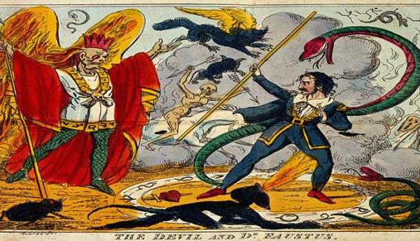 """""""Il Dottor Faust"""": volontà o destino?"""