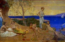 Il tema dell'età dell'oro nell'arte tra il XVI e il XX secolo
