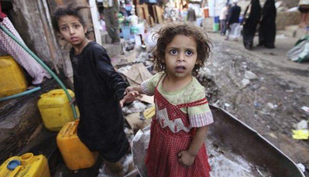 Nello Yemen milioni di bambini muoiono di fame, ma il mondo non lo sa