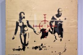 Banksy al Mudec: beffa al re della street art