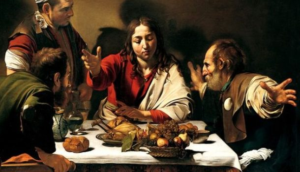 """Le due cene """"cene in Emmaus""""di Caravaggio: confronto,analogie e differenze"""