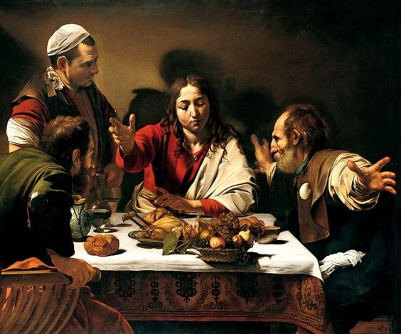 "Le due ""cene in Emmaus"" di Caravaggio: confronto,analogie e differenze"