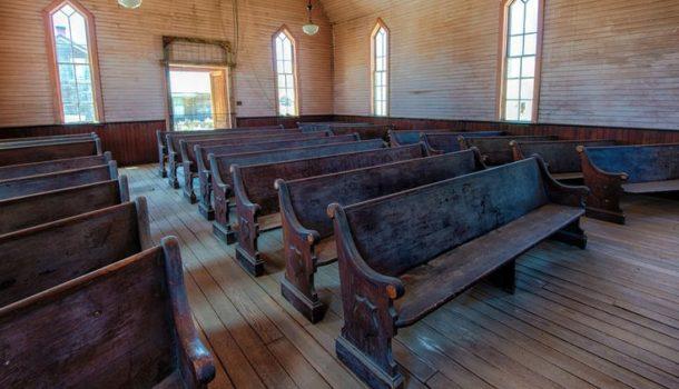 Una Chiesa vuota come regalo di Natale