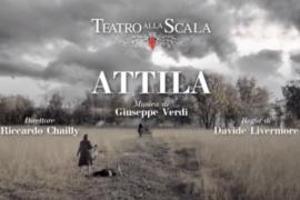"""""""Attila"""", la prima del Teatro alla Scala di Milano"""