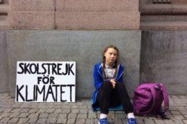 Greta Thunberg: una quindicenne contro il cambiamento climatico