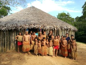Amazzonia: Laura con la tribù Yaguas